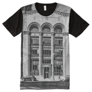 1945 Detroit - Security Trust Building All-Over-Print T-Shirt