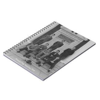 1945 Fencing Team Notebook