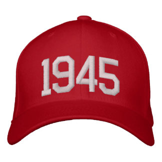 1945 Year Embroidered Hats