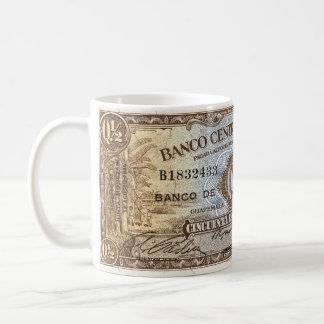 1946 Banco Central de Guatemala 50 centavos Mug