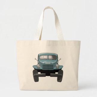 1946 Dodge Powerwagon Large Tote Bag
