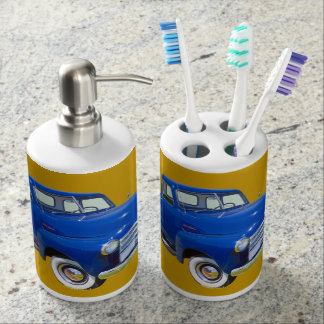 1947 Chevrolet Thriftmaster Antique Pickup Truck Toothbrush Holders