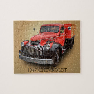 1947 CHEVROLET TRUCK JIGSAW PUZZLE