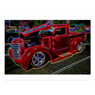 1947 Diamond-t Pickup Vintage Truck Postcard