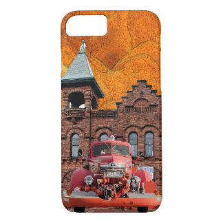 1947 International Fire Truck Design Case-Mate iPhone Case