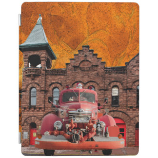 1947 International Fire Truck Design iPad Cover