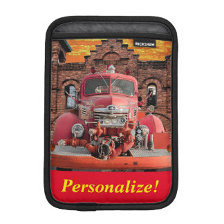 1947 International Fire Truck Design Sleeve For iPad Mini