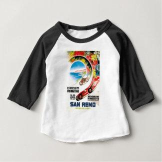 1947 San Remo Grand Prix Race Poster Baby T-Shirt