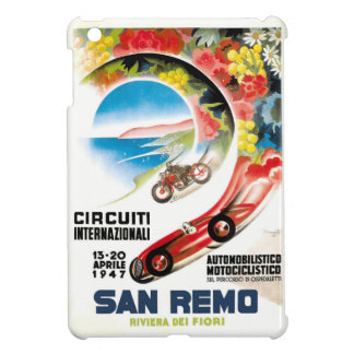1947 San Remo Grand Prix Race Poster iPad Mini Covers