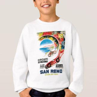 1947 San Remo Grand Prix Race Poster Sweatshirt