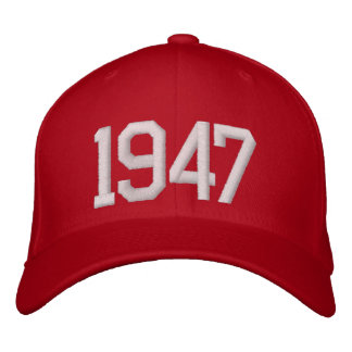 1947 Year Embroidered Hat