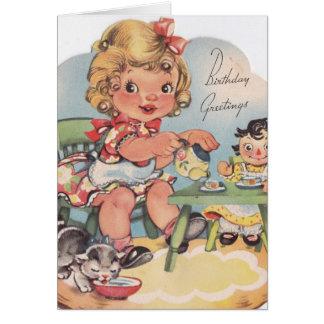 1948 Birthday Greetings Card