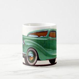 1948 green Austin Devon Coffee Mug