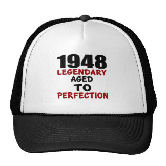 1948 LEGENDARY AGED TO PERFECTION TRUCKER HAT
