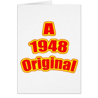 1948 Original Red Card