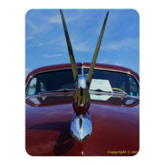 1948 Packard invitation