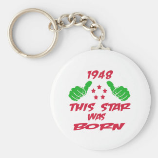 1948 this star was born keychain