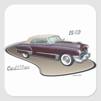 1949 CADILLAC STICKER