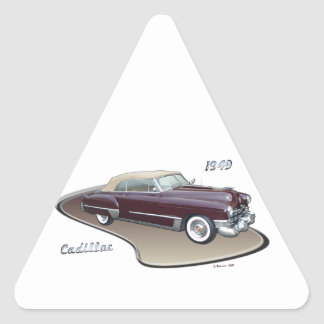 1949 CADILLAC TRIANGLE STICKERS