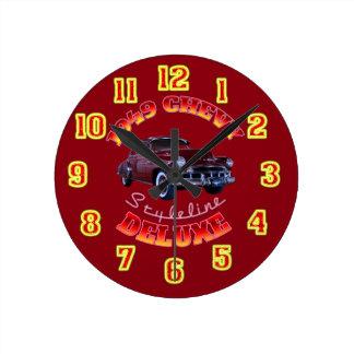 1949 Chevy Styleline Deluxe Clock. Wallclock