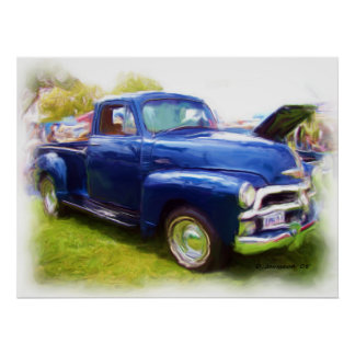 1949 Chevy Truck Poster