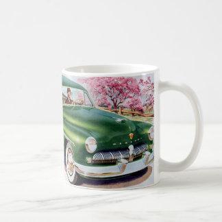 1949 green Mercury sedan Coffee Mug