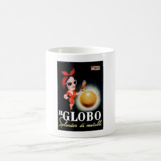 1949 Il Globo Italian Advertising Poster Coffee Mug
