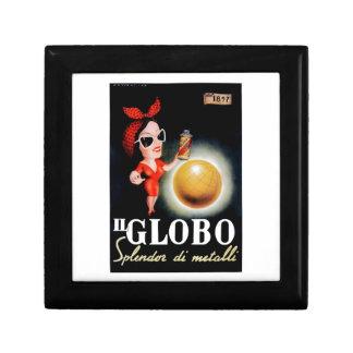 1949 Il Globo Italian Advertising Poster Gift Box