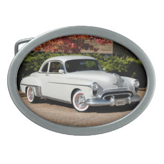 1949 Olds Rocket 88 | Oldsmobile Classic Car Oval Belt Buckle