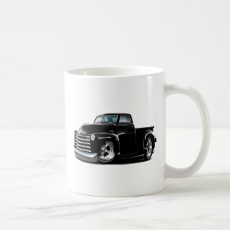 1950-52 Chevy Black Truck Coffee Mug