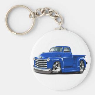 1950-52 Chevy Blue Truck Keychain