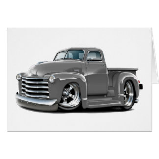 1950-52 Chevy Grey Truck Card