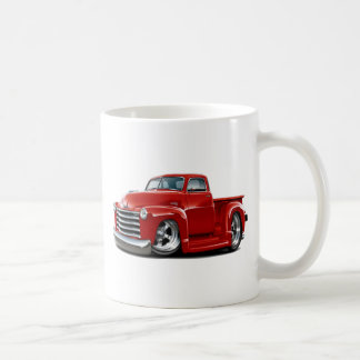 1950-52 Chevy Red Truck Coffee Mug
