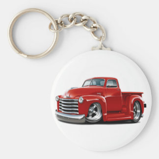 1950-52 Chevy Red Truck Keychain
