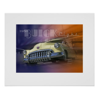 1950 Buick Eight Poster