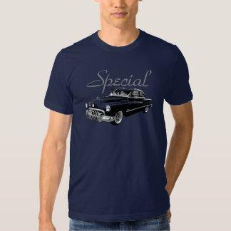 1950 Buick Fastback Sedan on colored t-shirt