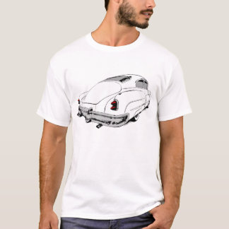 1950 Buick Lead Sled in White with coloured T-Shirt