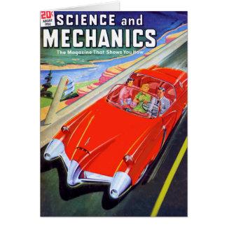 1950 Car of the Future Card