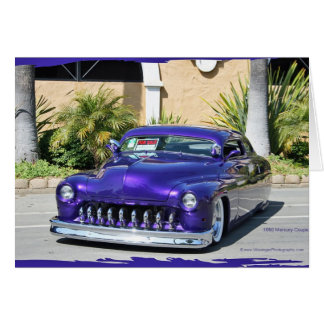 1950 Mercury Coupe (chopped) Card