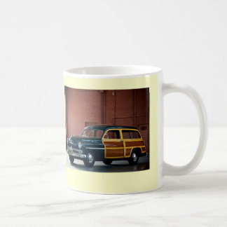1950 Mercury Woodie Coffee Mug