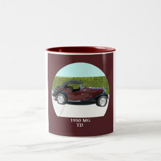 1950 MG TD Two-Tone COFFEE MUG