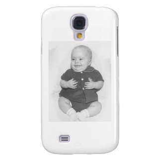 1950 s Portrait of Baby Boy Samsung Galaxy S4 Cover