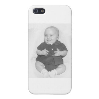 1950 s Portrait of Baby Boy iPhone 5 Case