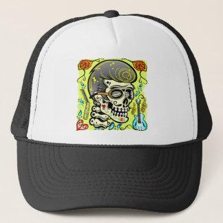 1950's Zombie Rocker Trucker Hat