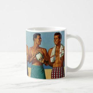 1950s Beach Dudes Coffee Mug