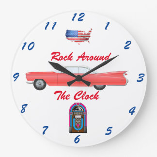 1950's Cadillac Wall Clock