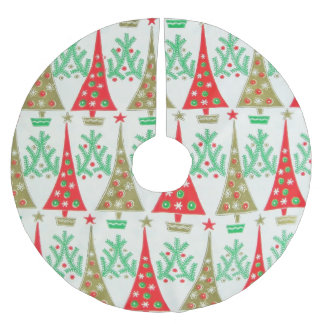 1950s Cartoon Christmas Tree Skirt