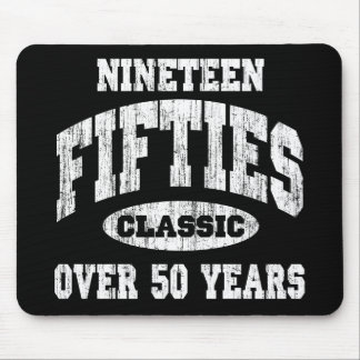 1950's Classic Birthday Mouse Pad