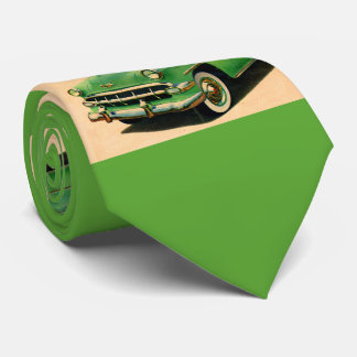 1950s green Chevy Tie