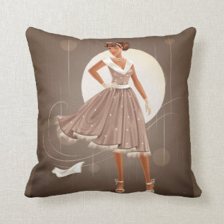 1950's Housewife Throw Pillow